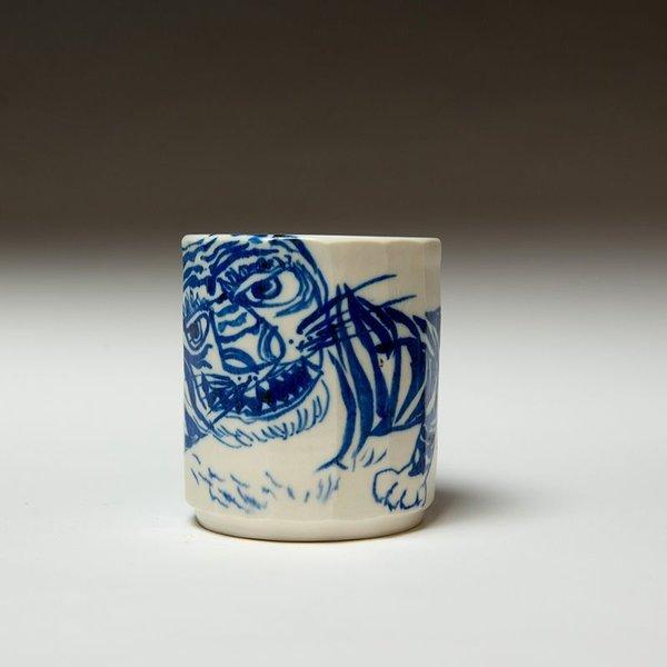"""Sunkoo Yuh Sunkoo Yuh, Yunomi, porcelain, 4.25 x 3.75"""""""