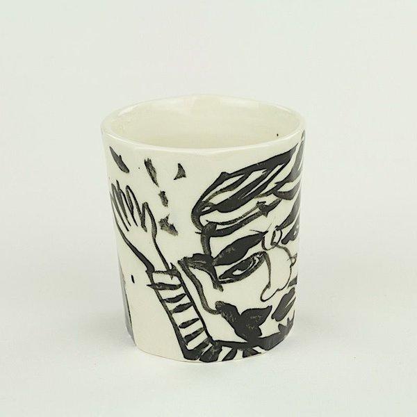 "Sunkoo Yuh Sunkoo Yuh, Cup, 3.75 x 3.5"" dia"