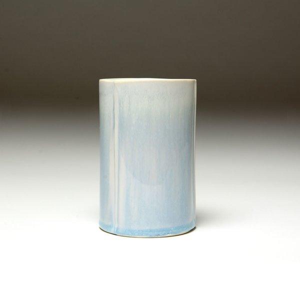 """Nick Moen Nick Moen, Cylinder Glow Cup, porcelain, glaze, 4.75 x 3"""""""