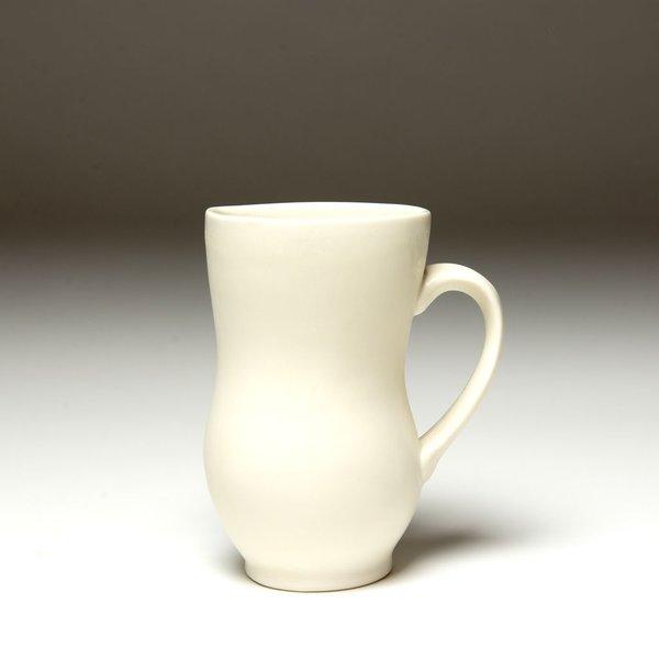 Nick Moen Nick Moen, Curve Mug, porcelain, glaze