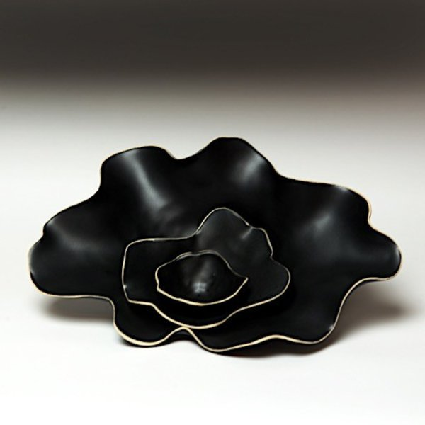 Kate Tremel Kate Tremel, Nesting Flower Bowl, 2.5  x 7 x 8""