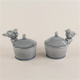Steve Godfrey Steve Godfrey, King Bird on Buttress Salt & Pepper Shaker, 3 x 4.5 x 3""