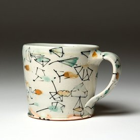 Ted Saupe Ted Saupe,  Mug, earthenware, 3.25 x 4.5 x 3.25""