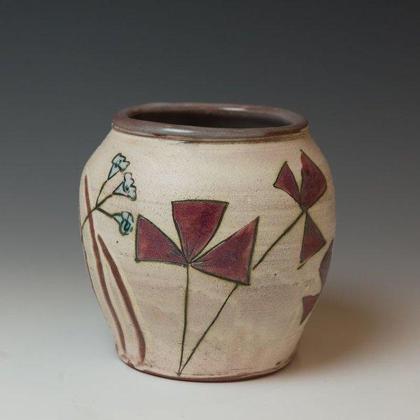 "Maria Dondero Maria Dondero, Jar, 8.25 x 6.25 x 5.25"""