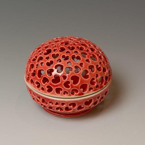"Masa Sasaki Masa Sasaki, Tea Candle, porcelain, glaze, 3.25 x 3.5"""