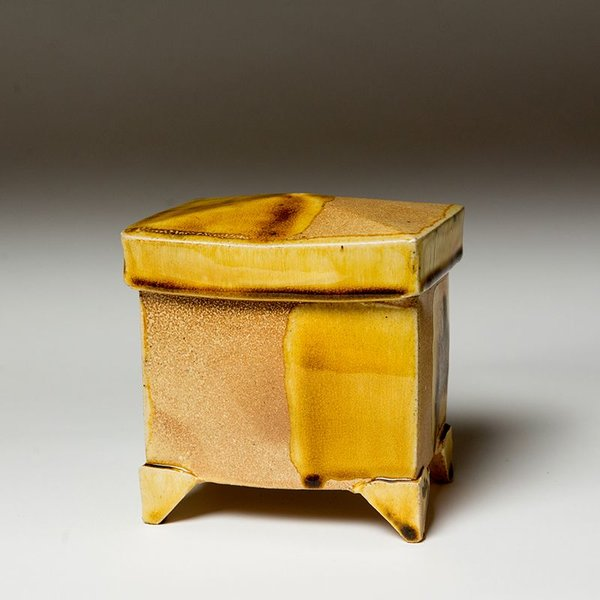 Michael Simon Michael Simon, Persian Jar, earthenware, 6x 5.5 x 4""