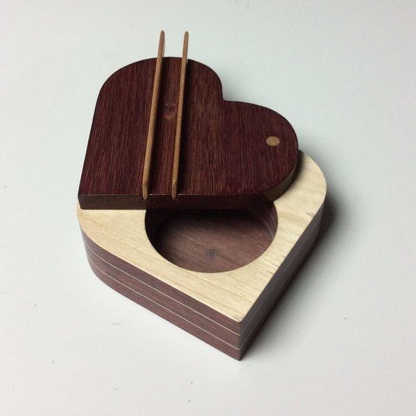 Doug Pisik, Dot Box, various woods, 10.75 x 6.75 x 6.75