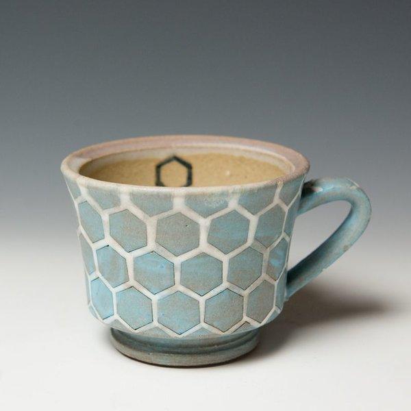 """Masa Sasaki Masa Sasaki, Mug, black mountain clay, 3.5 X 5.5 x 4.5"""""""