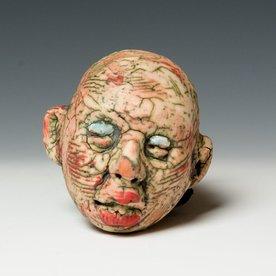 """Tom Bartel Tom Bartel, Small Head with Reqular Nose, 3.75 x 3.5 x 3.5"""""""