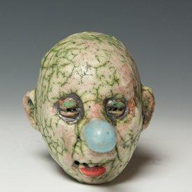"Tom Bartel Tom Bartel, Small Head (Blue Nose) , 4 x 3 x 3.5"""