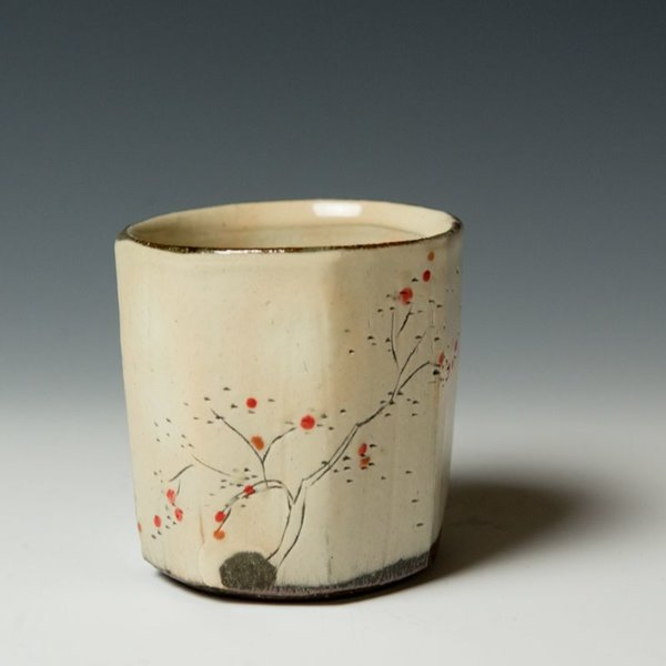 """Minsoo Yuh Minsoo Yuh, Tea Cup, 3.25 x 3.25"""" dia"""