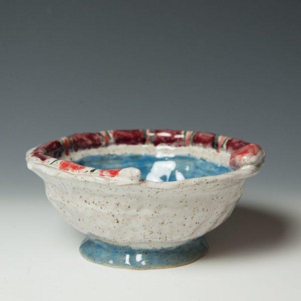 """The Southern Table Alex Kerr, Smal Bowl, 7.5 x 7.5 x 3"""""""