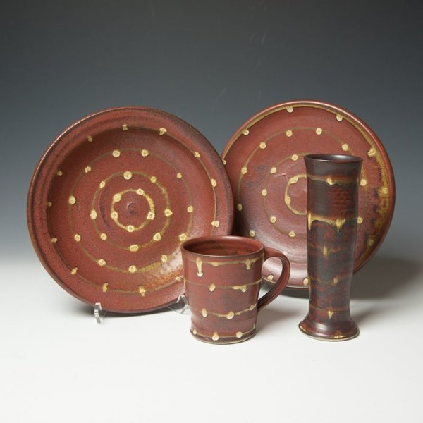 The Southern Table Kent McLaughlin, Dinner Plate, stoneware