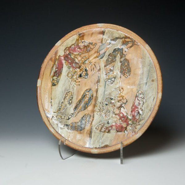 The Southern Table Ken Sedberry, Frog Dinner Plate, stoneware