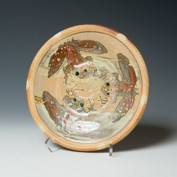The Southern Table Ken Sedberry, Small Frog Plate, stoneware