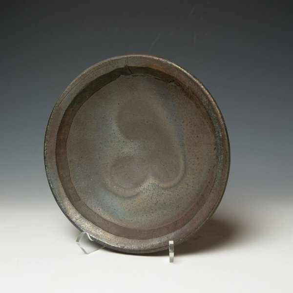 Lindsay Oesterritter, Wide Bowl, wood-fired stoneware