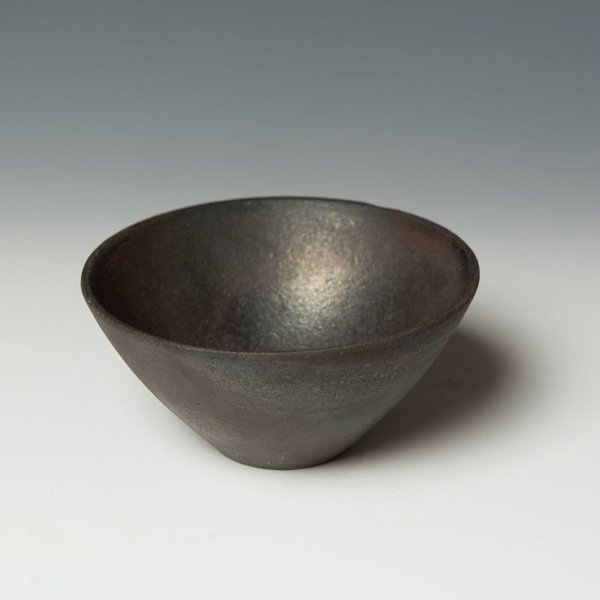 Lindsay Oesterritter, Small Bowl, wood-fired stoneware