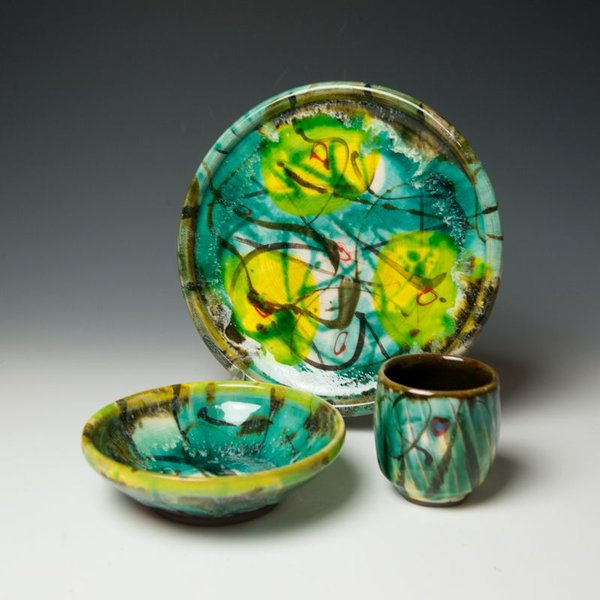 The Southern Table Michael Ashley, Dinner Plate, earthenware