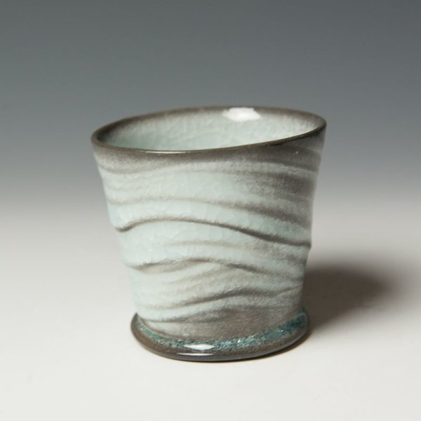 The Southern Table Matt Long, Sipping Cup, soda-fired porcelain