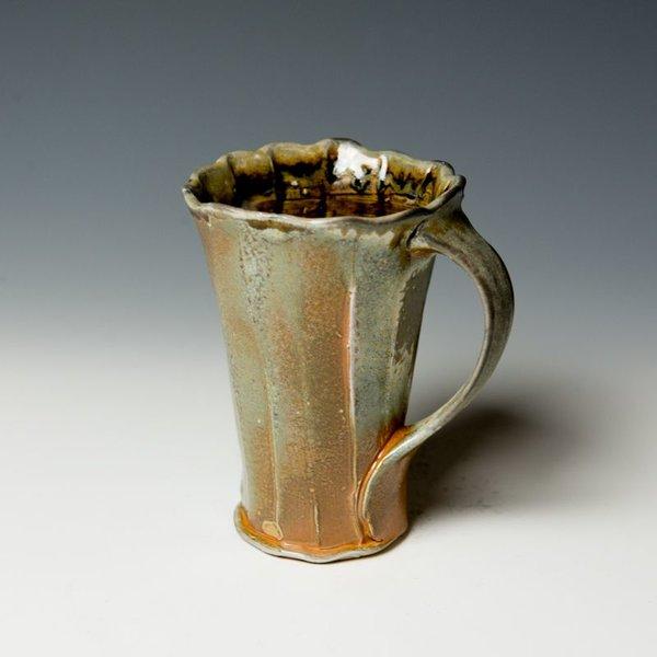 Matthew Schiemann, Mug, soda-fired porcelain
