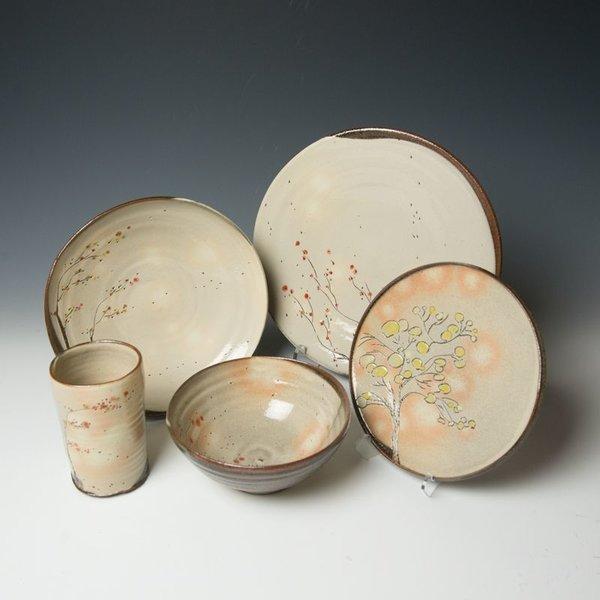 Minsoo Yuh Minsoo Yuh, Lunch Plate, stoneware
