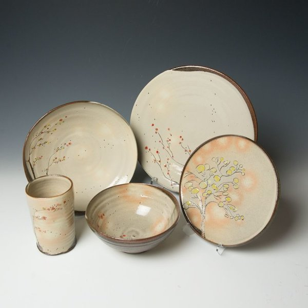 Minsoo Yuh Minsoo Yuh, Dessert Plate, stoneware