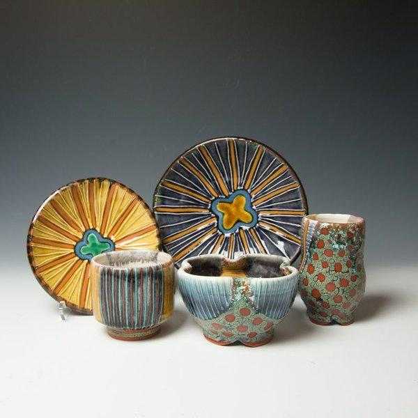 The Southern Table Ronan Kyle Peterson, Plate, earthenware, slip, glaze, terra sig,