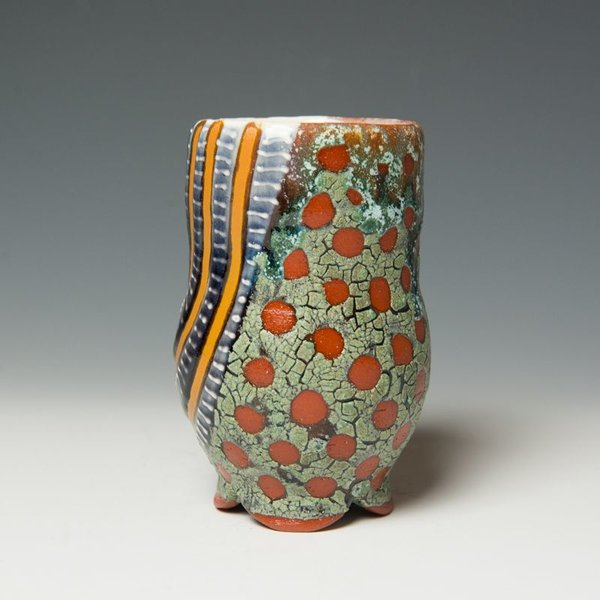 The Southern Table Ronan Kyle Peterson, Cup, earthenware, slip, glaze, terra sig,