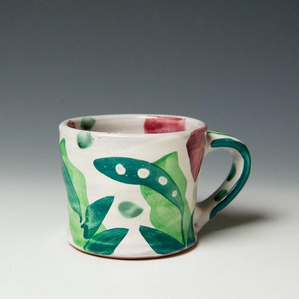 "The Southern Table Stan Andersen, Mug, earthenware, majolica, 4x3"""