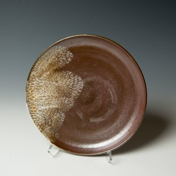 The Southern Table Susie Bowman, Salad Plate, carved, soda-fired