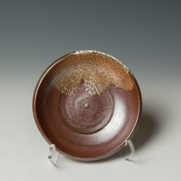The Southern Table Susie Bowman, Dessert Bowl, carved, soda-fired