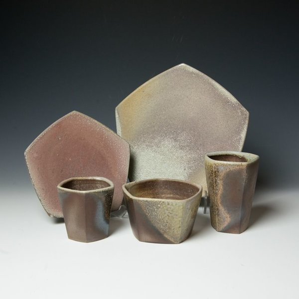 The Southern Table Stephen Heywood, Small Plate, wood-fired stoneware