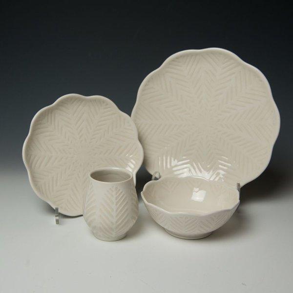 The Southern Table Vernon Smith, Dinner Plate, porcelain, glaze