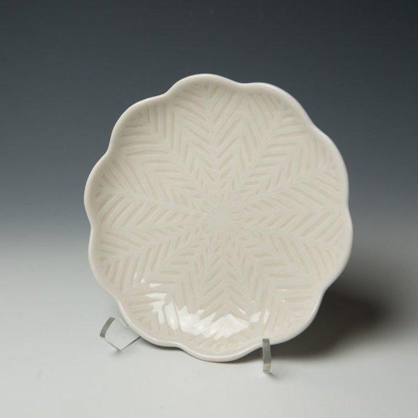 The Southern Table Vernon Smith, Salad Plate, porcelain, glaze