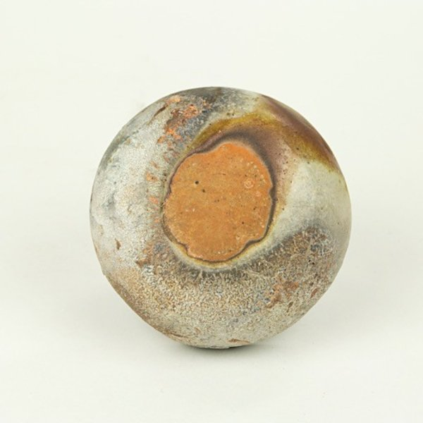 "Josh Copus Josh Copus, Small Pixel, woodfired wild harvested clay,  1.75  x 4"" dia"