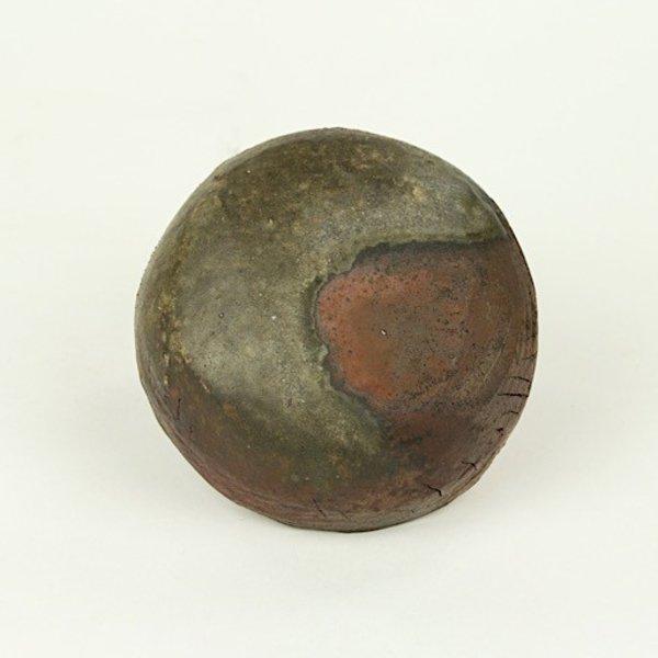 "Josh Copus Josh Copus, Small Pixel, woodfired wild harvested clay,  1.75  x 4"" dia"
