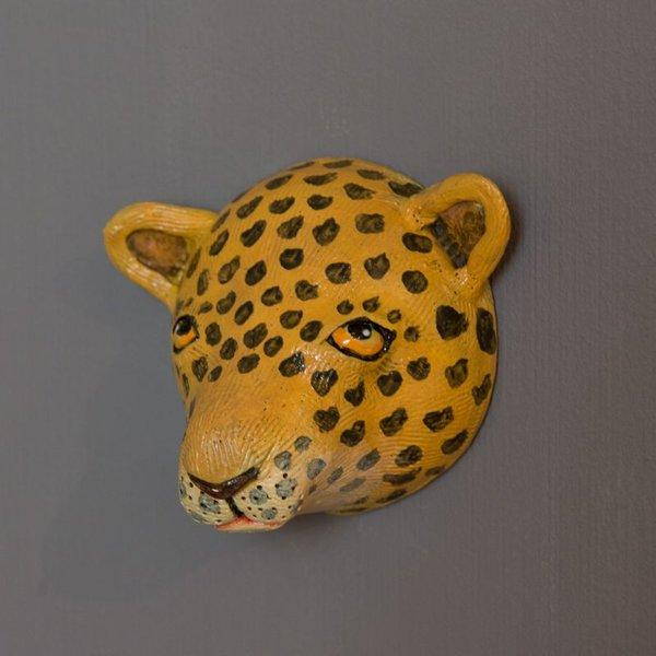 """Barry Gregg Barry Gregg, Leopard, handbuilt earthenware, glaze, 5 x 5.25 x 3.25"""""""