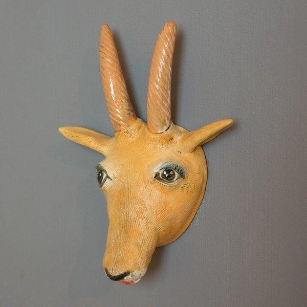 "Barry Gregg Barry Gregg, Antelope, handbuilt earthenware, glaze, 9.5 x 7.25 x 3.5"""