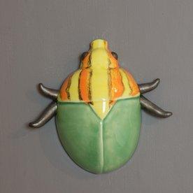 "Krista Grecco Krista Grecco, Candy Bug, porcelain, 9.25 x 9.25 x 3"""