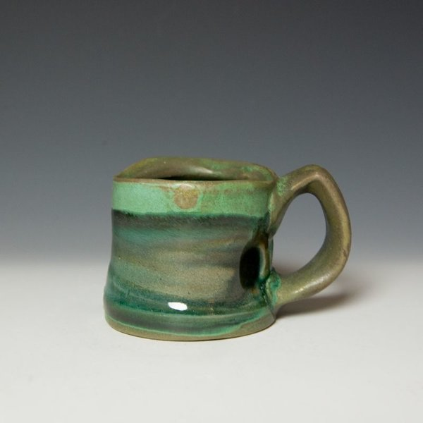 Shadow May, Mug, stoneware, glaze, 3.25 x 5 x 3.5""