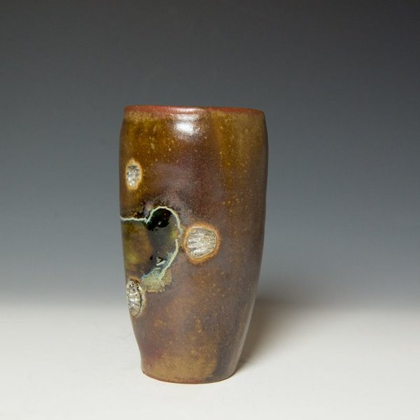 Shadow May, Tumbler, stoneware, glaze, 6.25 x 3.5""