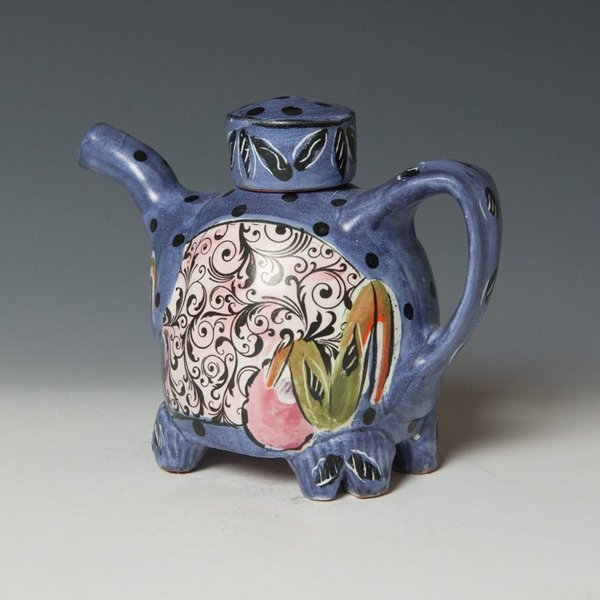 Posey Bacopoulos Posey Bacopoulos, Ewer, majolica