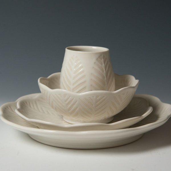 Vernon Smith Vernon Smith, Dinner Plate, porcelain, glaze