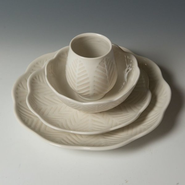 Vernon Smith Vernon Smith, Salad Plate, porcelain, glaze