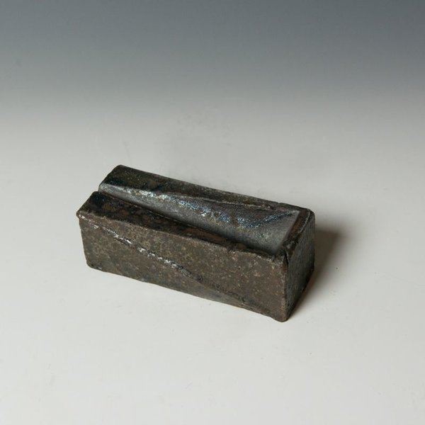 Lindsay Oesterritter, Salt Server, wood-fired stoneware