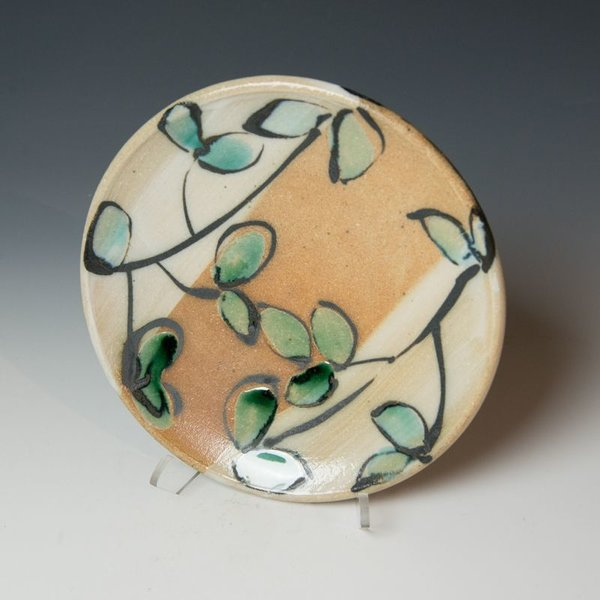 The Southern Table Suze Lindsay, Salad Plate, salt-fired stoneware