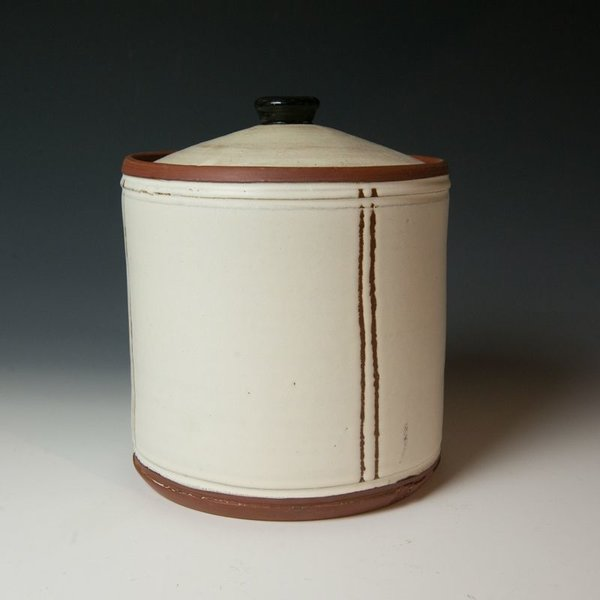 The Southern Table Terry Gess, Covered Jar, stoneware