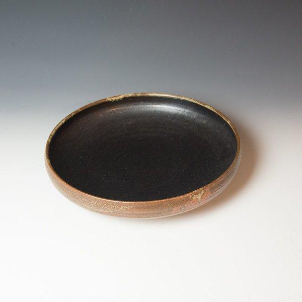 The Southern Table Caroline Cercone, Serving Bowl, stoneware, ash & black glaze