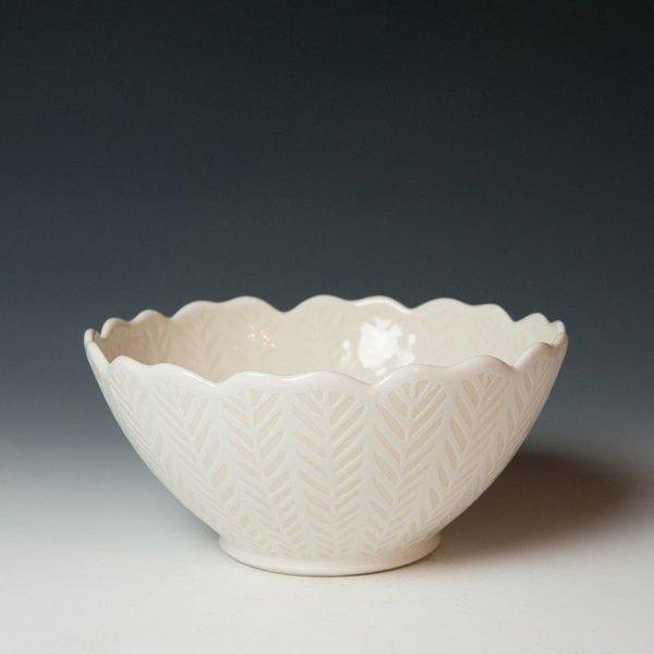 Vernon Smith Vernon Smith, Serving Bowl, porcelain, glaze