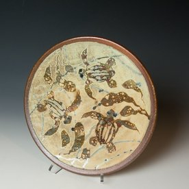 The Southern Table Ken Sedberry, Turtle Dinner Plate, stoneware